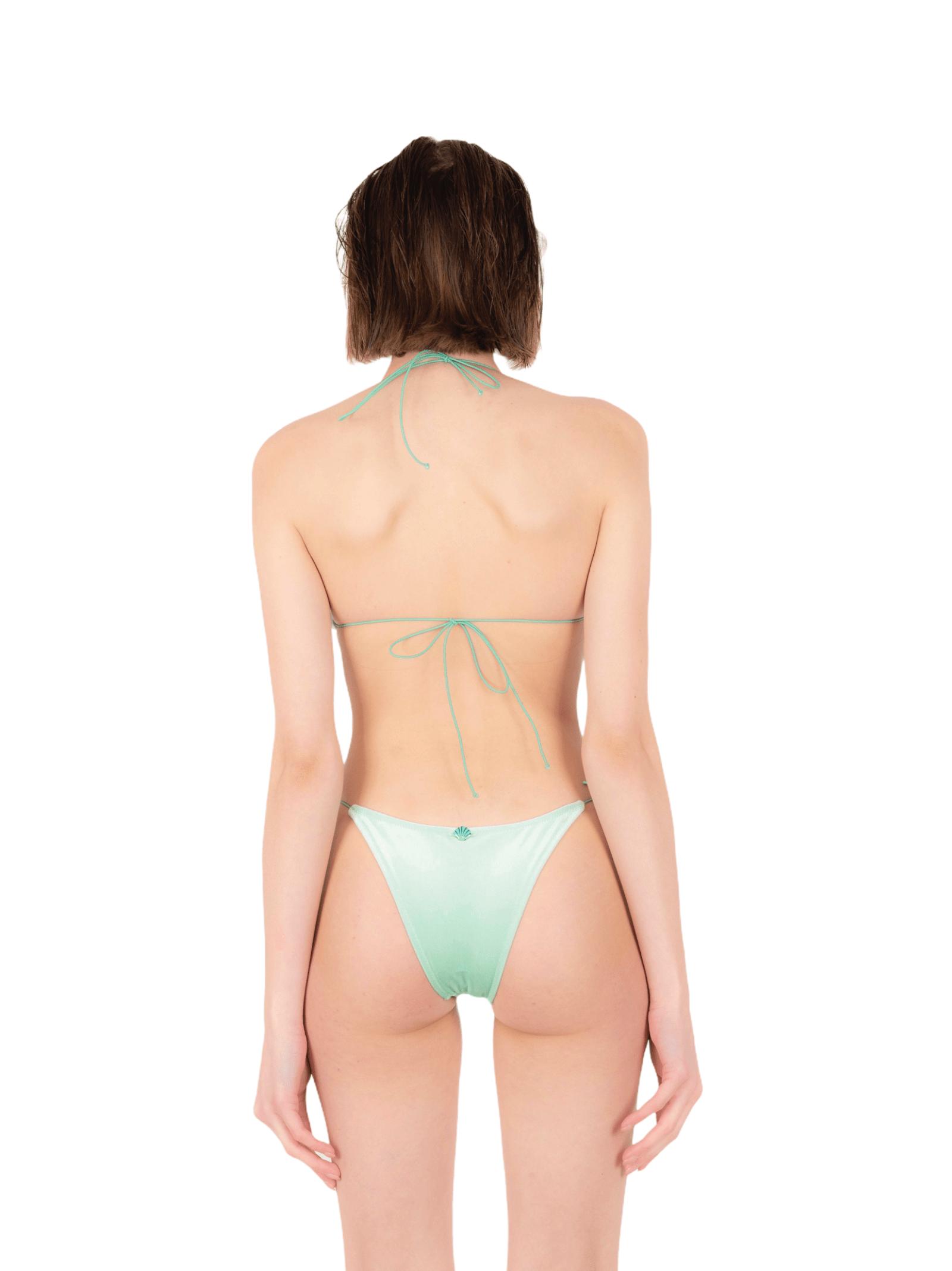 Bikini triangolo con slip fiocco ANNAMARE | 23 | BK-124VERDE