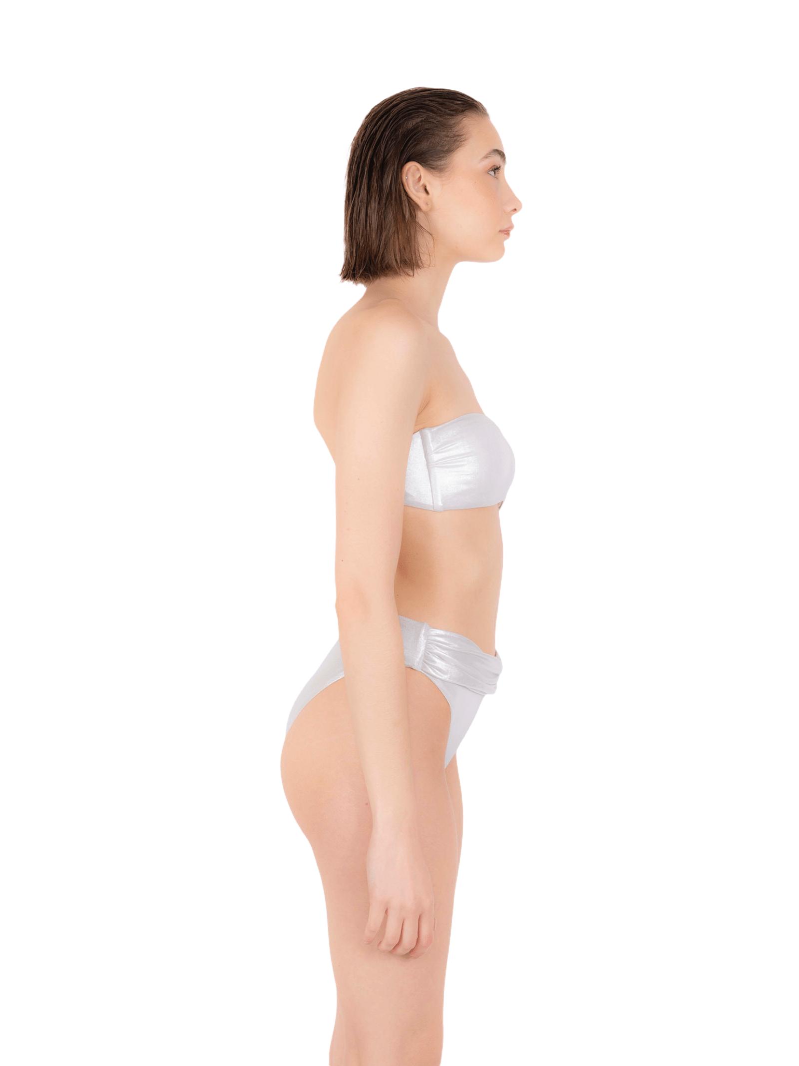 Bikini top with high slip ANNAMARE | 23 | BK-128BIANCO