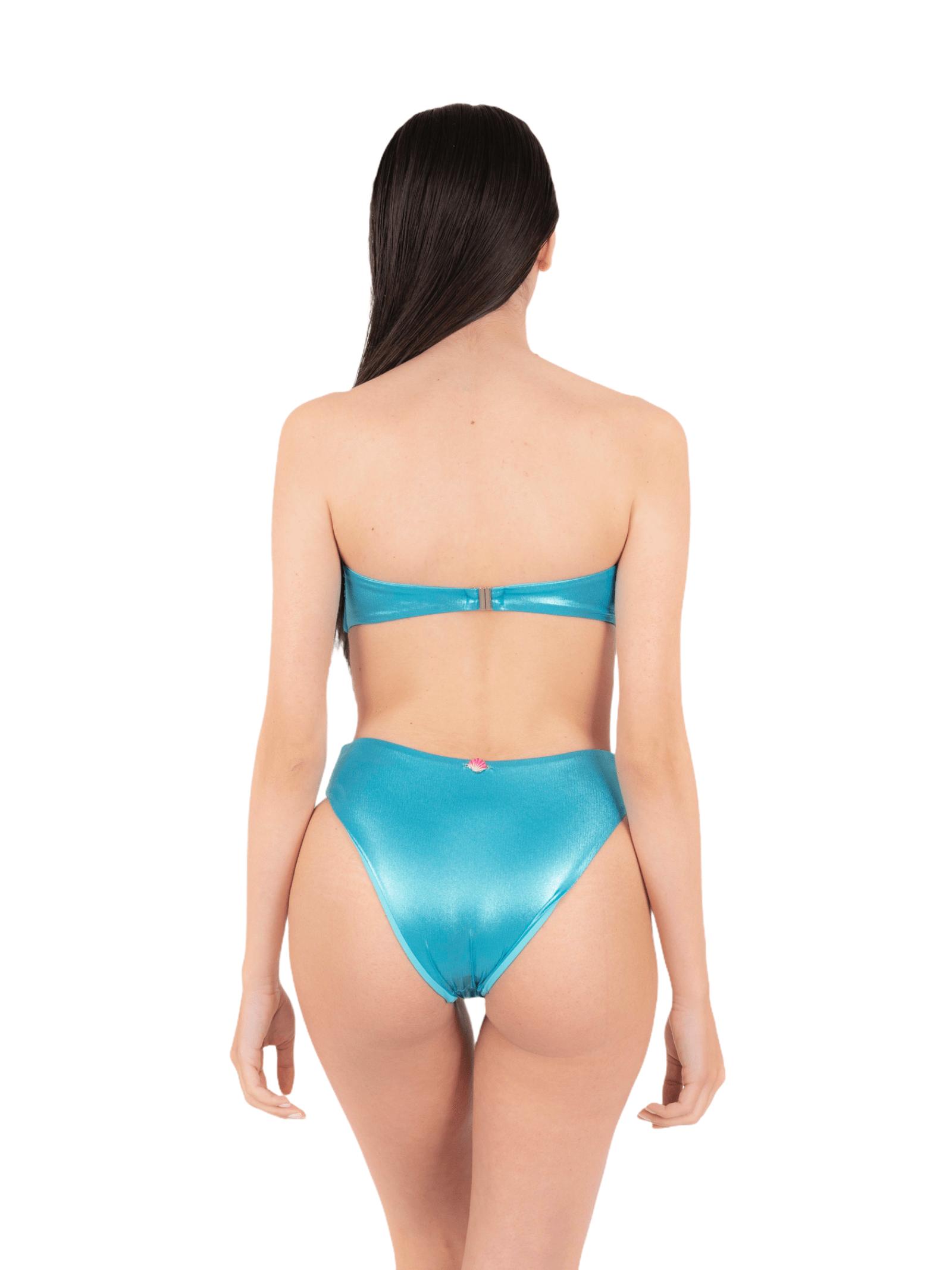Bikini top with high slip ANNAMARE | 23 | BK-128CELESTE