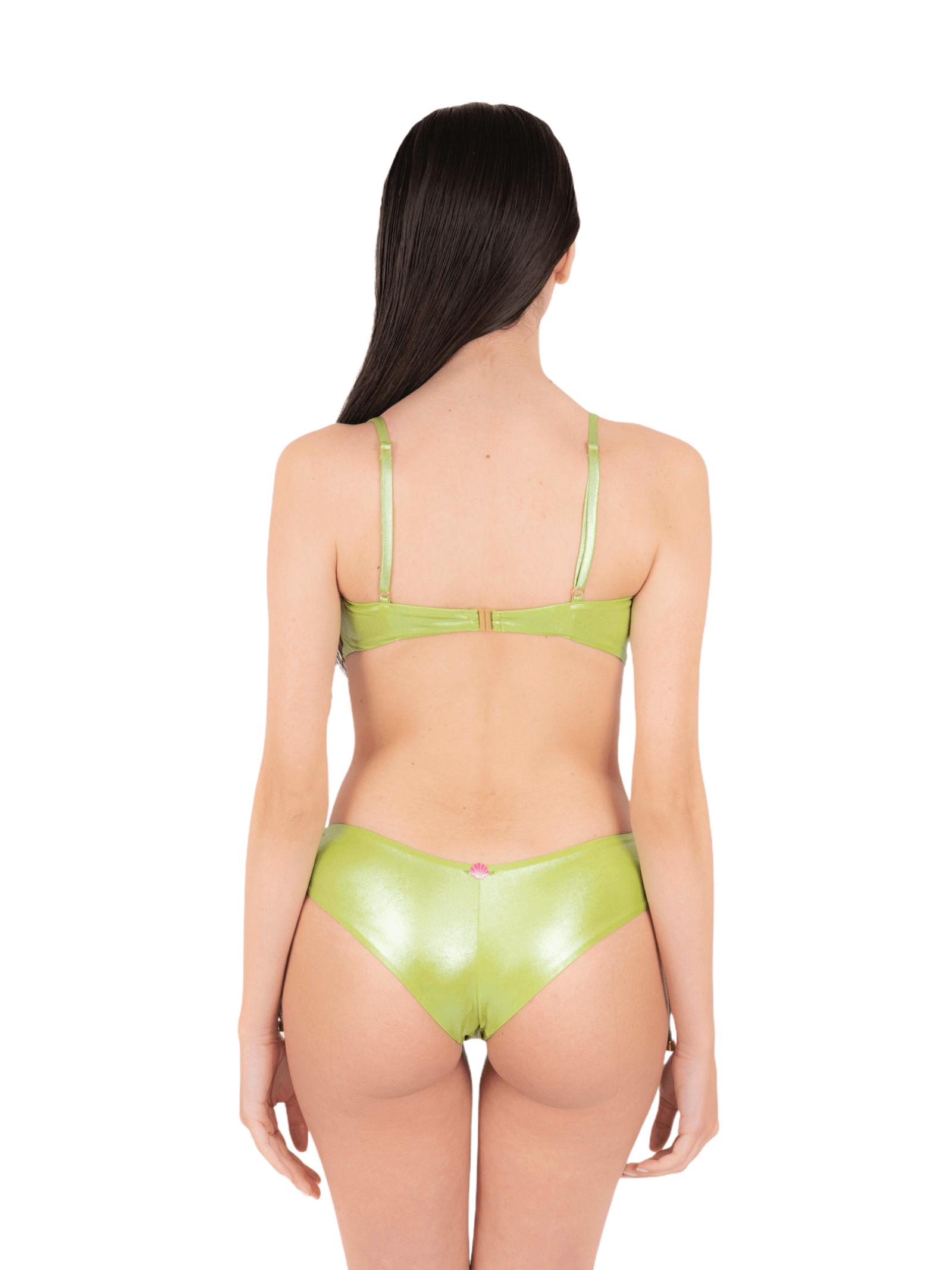 Bikini fascia con slip coulisse ANNAMARE | 23 | BK-130VERDE