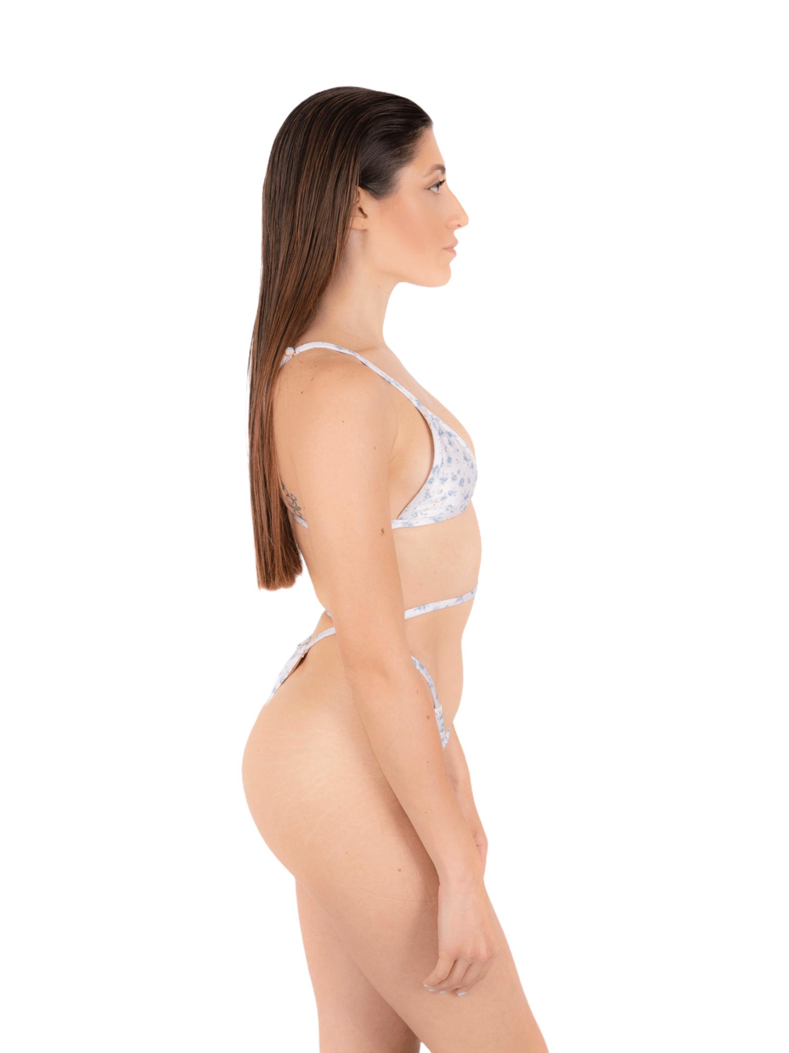 Bikini triangolo con slip tanga ANNAMARE | 23 | BK-133BIANCO