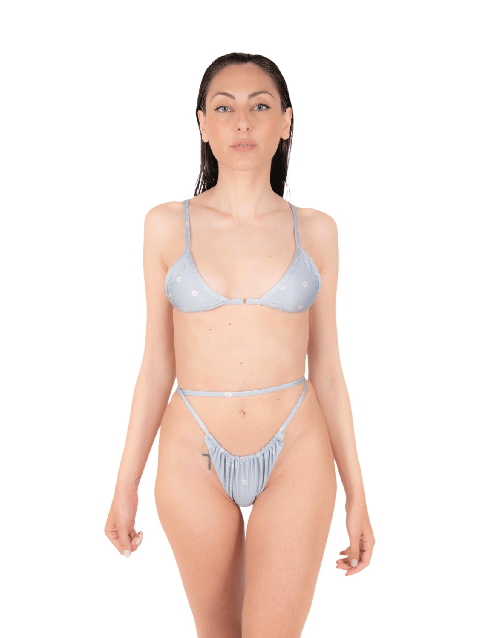 Bikini triangolo con slip tanga ANNAMARE | 23 | BK-133CELESTE