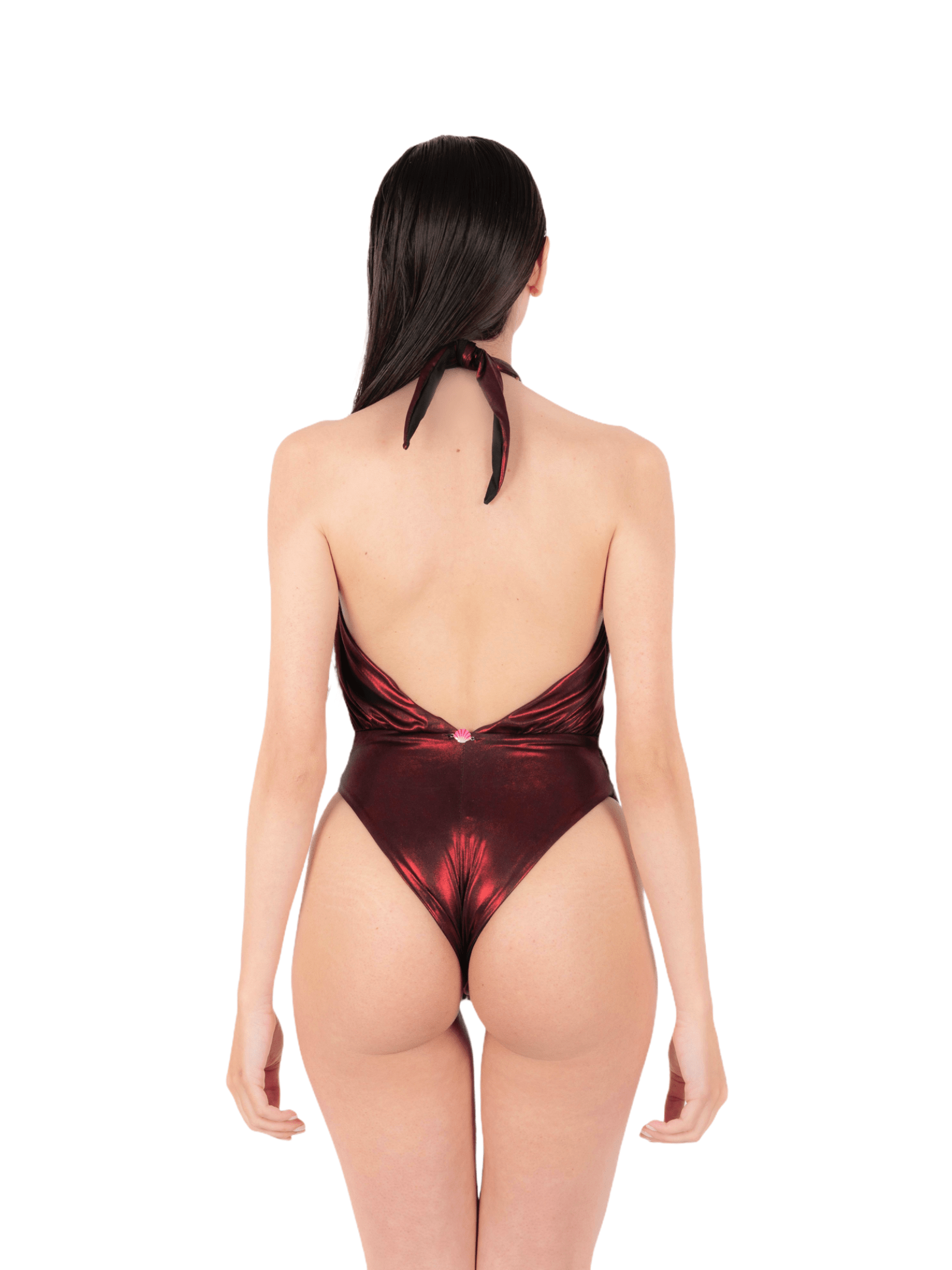 Swimsuit with American bands ANNAMARE | 5032240 | IN-501ROSSO