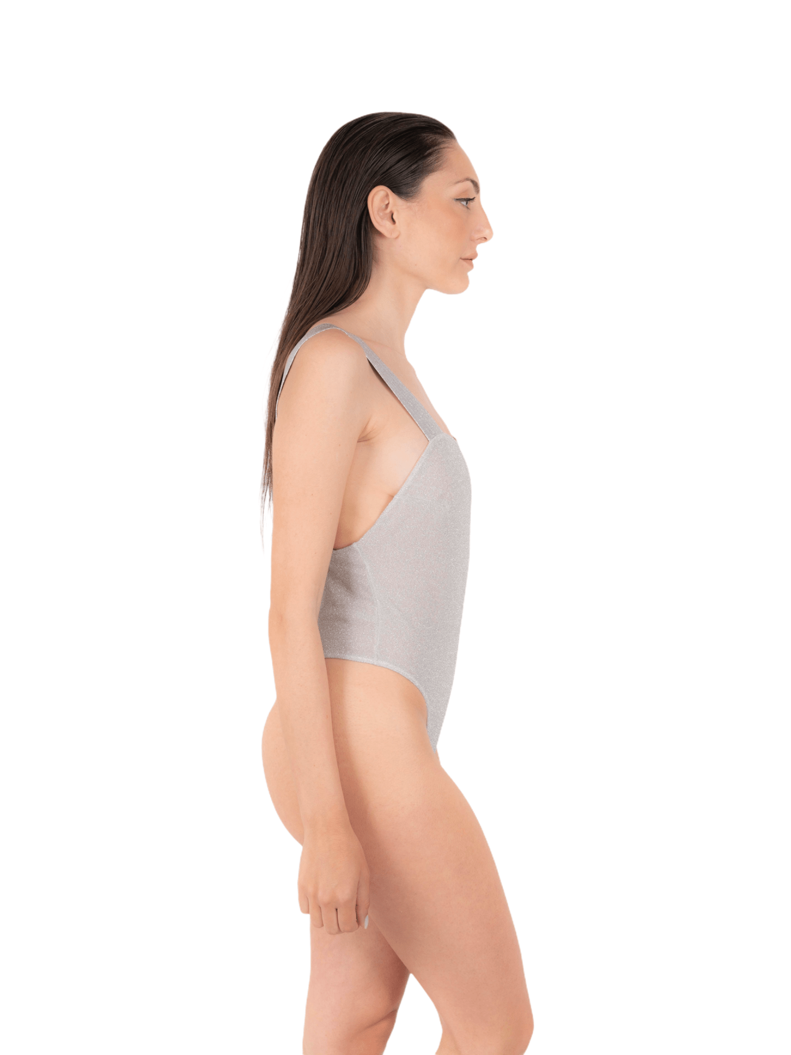 Swimsuit with glitter elastic ANNAMARE   5032240   IN-503BIANCO