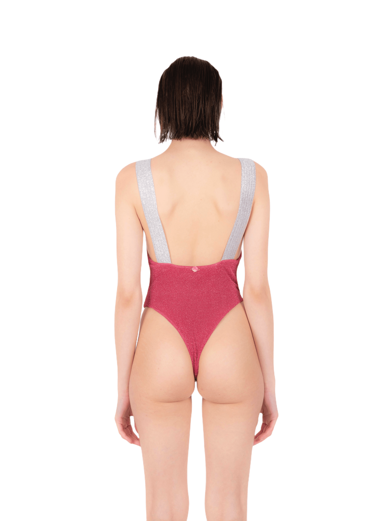 Swimsuit with glitter elastic ANNAMARE   5032240   IN-503ROSA