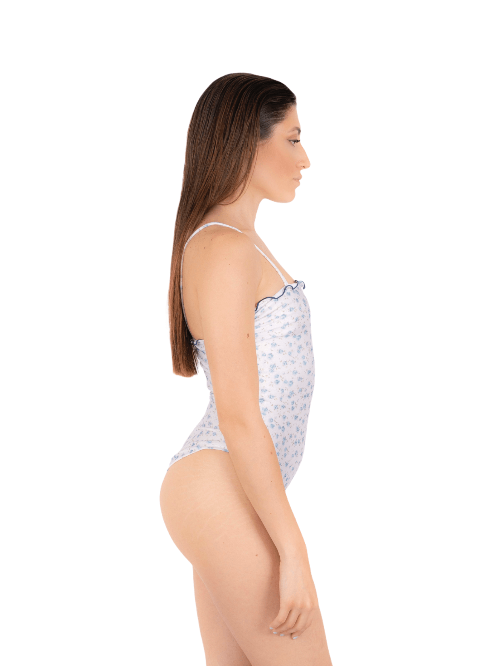 Swimsuit body with curl ANNAMARE | 5032240 | IN-506BIANCO