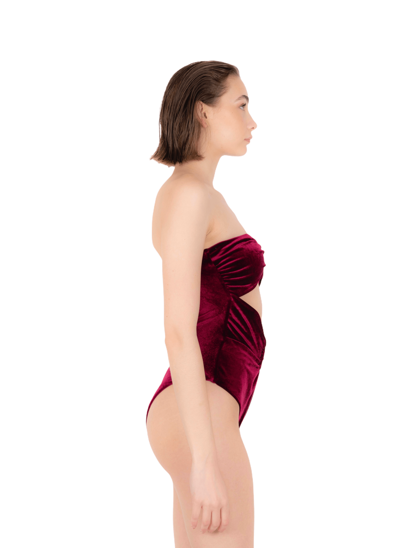 Swimsuit band with rings ANNAMARE | 5032240 | IN-507BORDEAUX