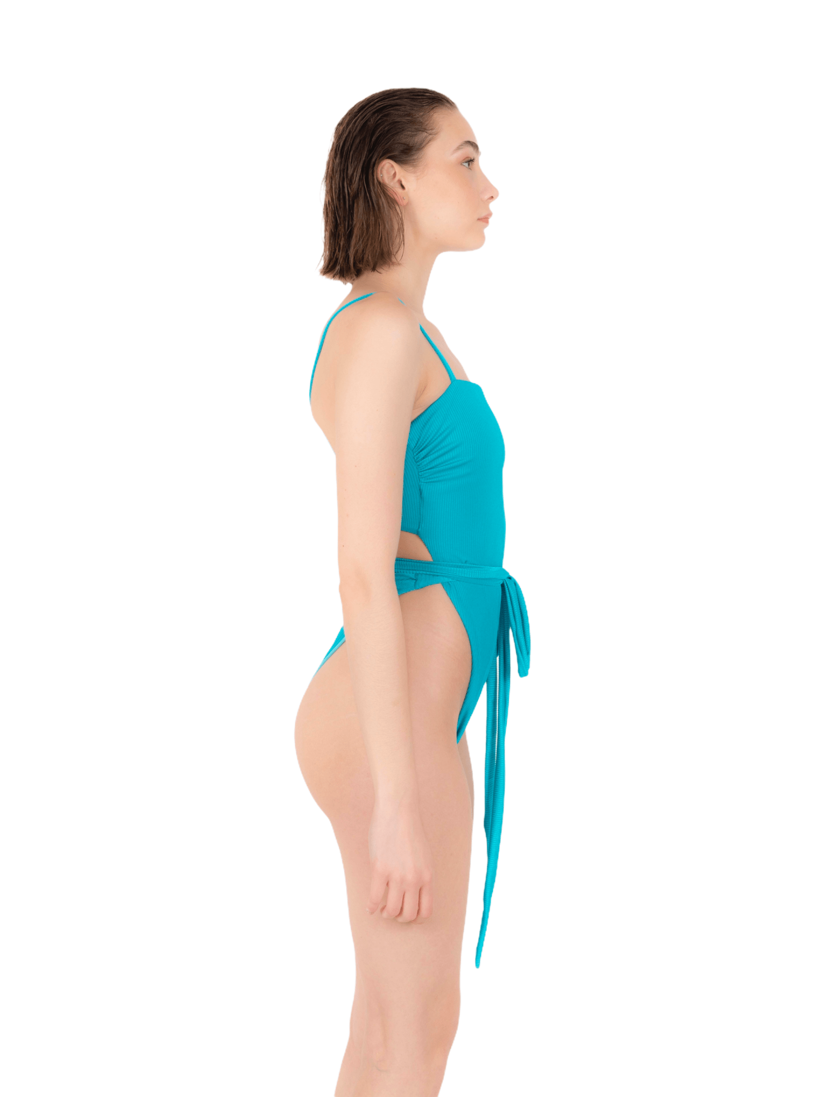 Swimsuit with lace ANNAMARE | 5032240 | IN-509CELESTE