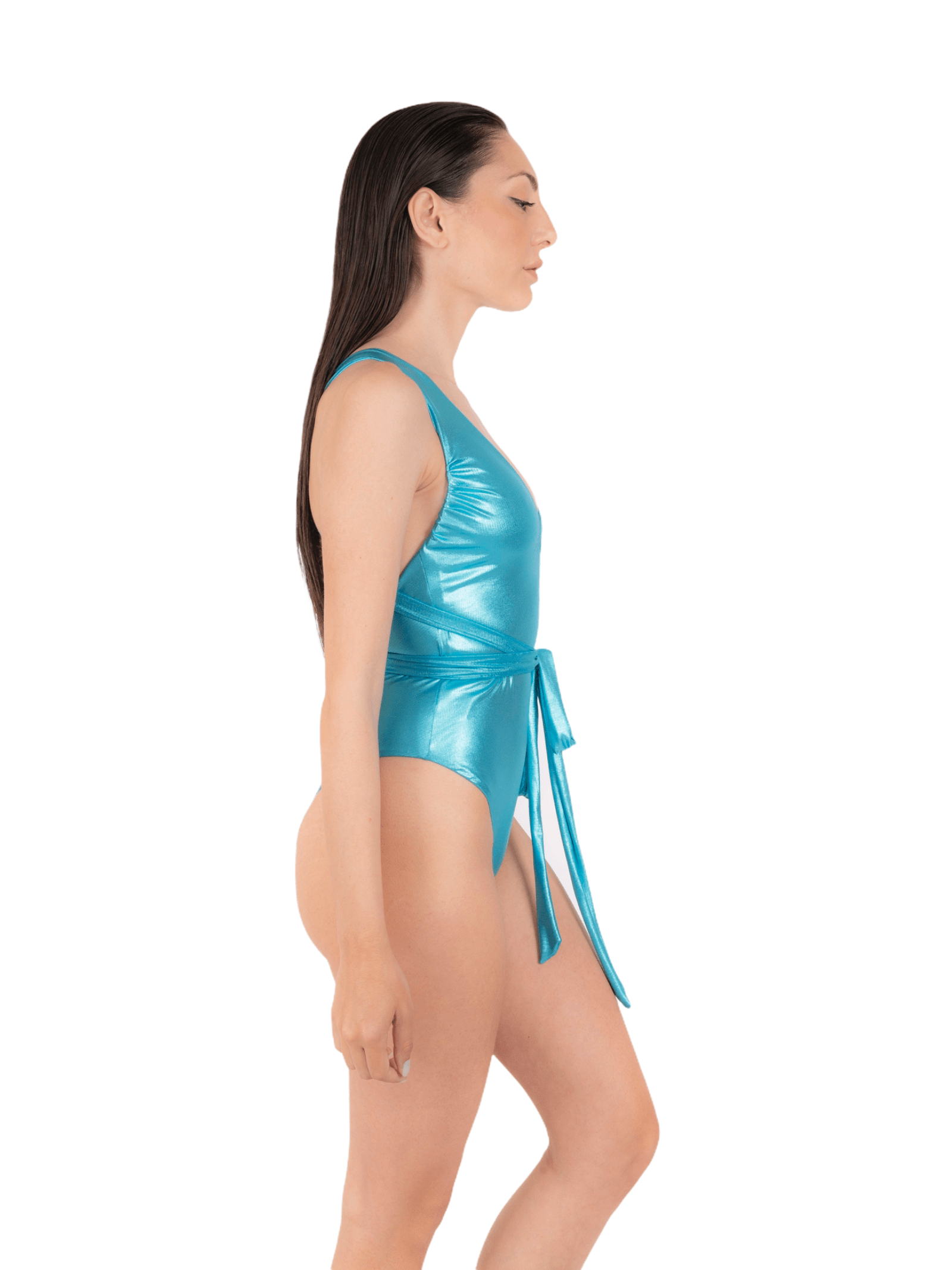 Swimsuit with adjustable laces ANNAMARE | 5032240 | IN-510CELESTE