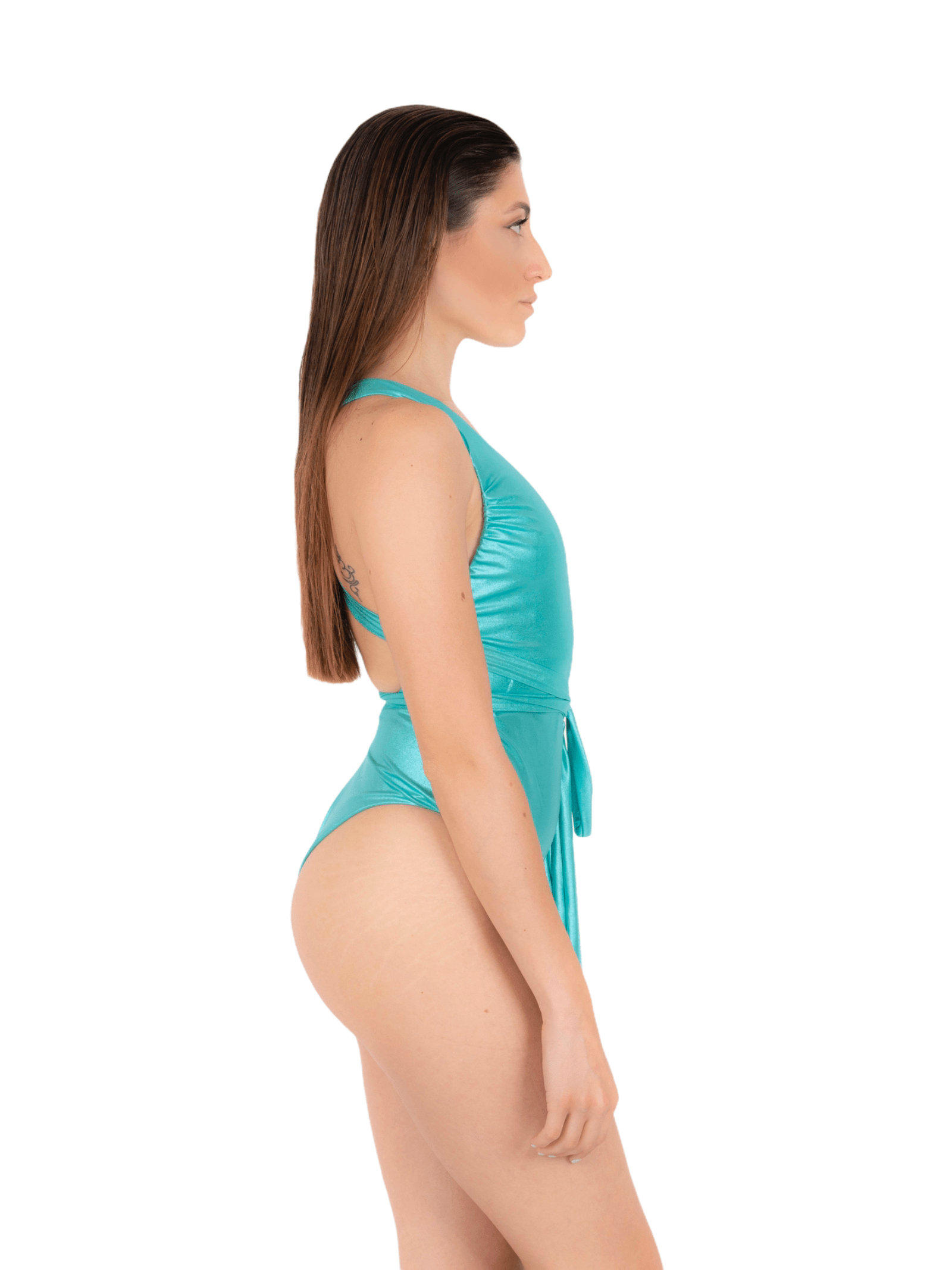 Swimsuit with adjustable laces ANNAMARE | 5032240 | IN-510VERDE