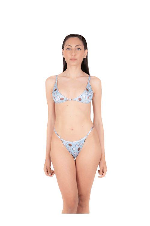 Bikini triangolo con slip tanga ANNAMARE | 23 | BK-103CELESTE