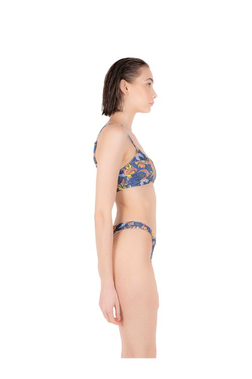 Bikini tank top with knot slip ANNAMARE | 23 | BK-107BLU