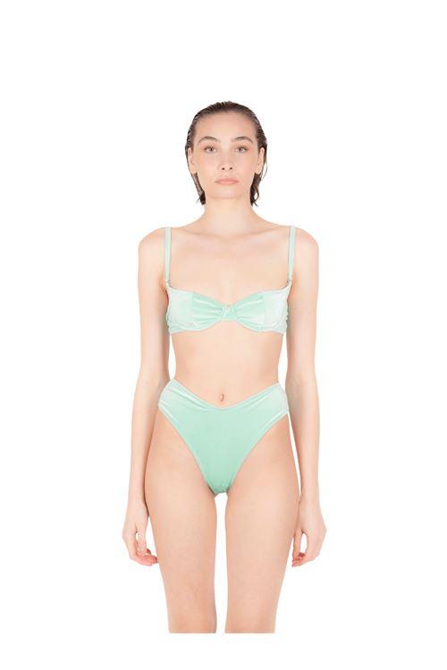 Bikini balconcino con slip V ANNAMARE | 23 | BK-108VERDE