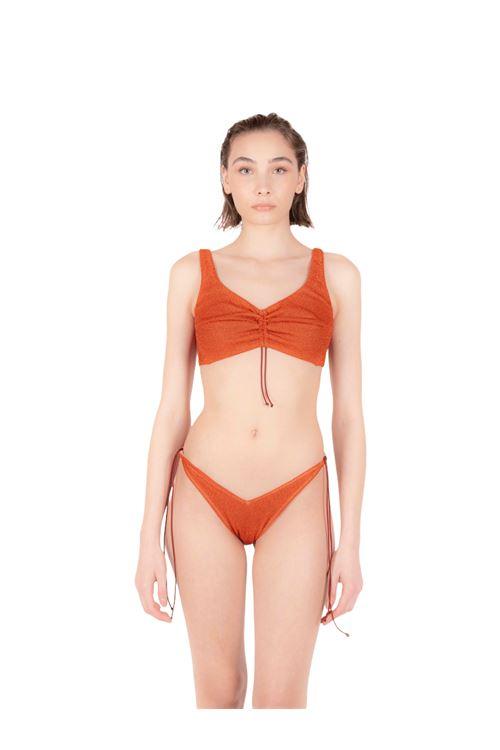 Bikini fascia con slip fiocco ANNAMARE | 23 | BK-110ARANCIONE