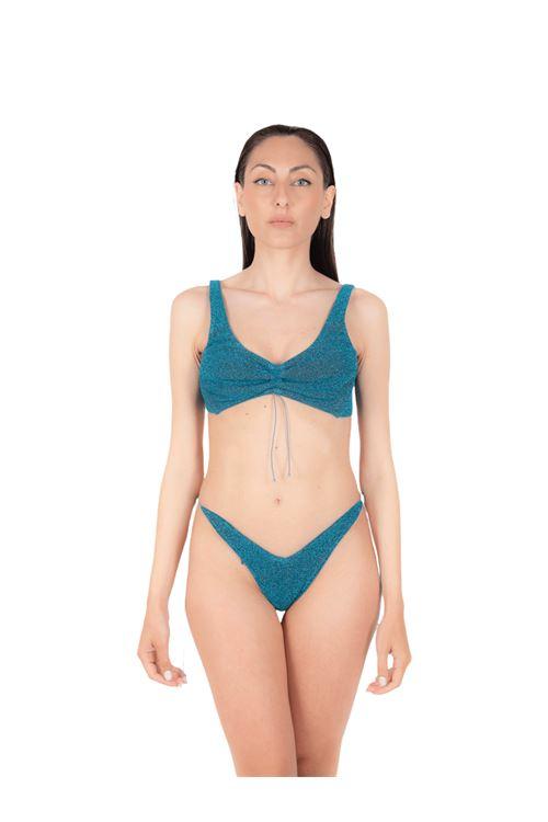 Bikini top with bow slip ANNAMARE | 23 | BK-110BLU