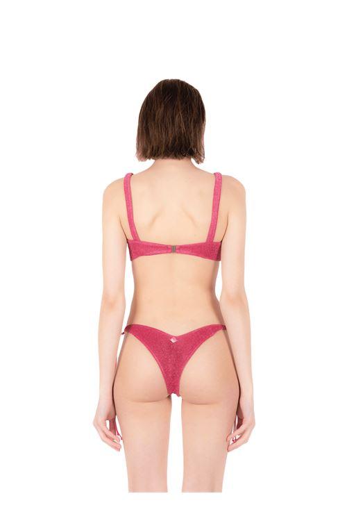 Bikini fascia con slip fiocco ANNAMARE | 23 | BK-110ROSA