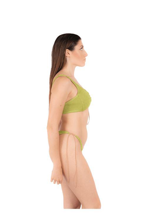 Bikini fascia con slip fiocco ANNAMARE | 23 | BK-110VERDE