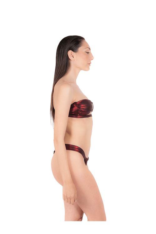 Bikini top with lace slip ANNAMARE | 23 | BK-112ROSSO