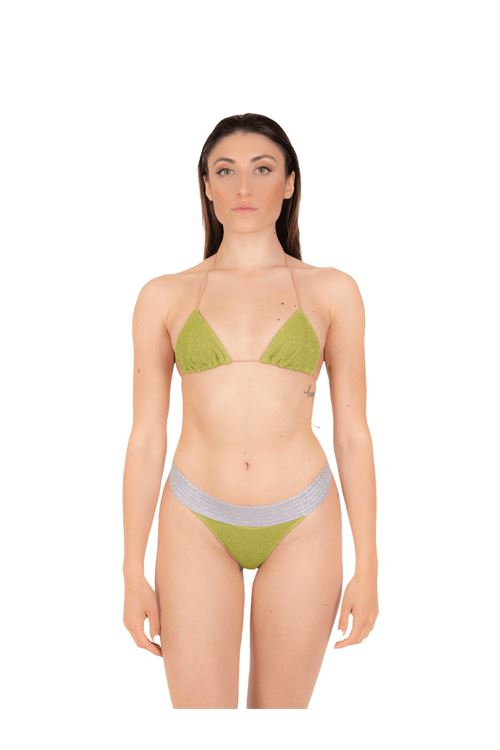 Bikini triangle with bandeau slip ANNAMARE | 23 | BK-113VERDE