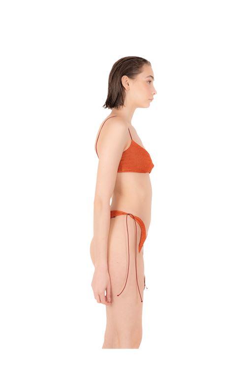 Bikini fascia con slip fiocco ANNAMARE | 23 | BK-115ARANCIONE