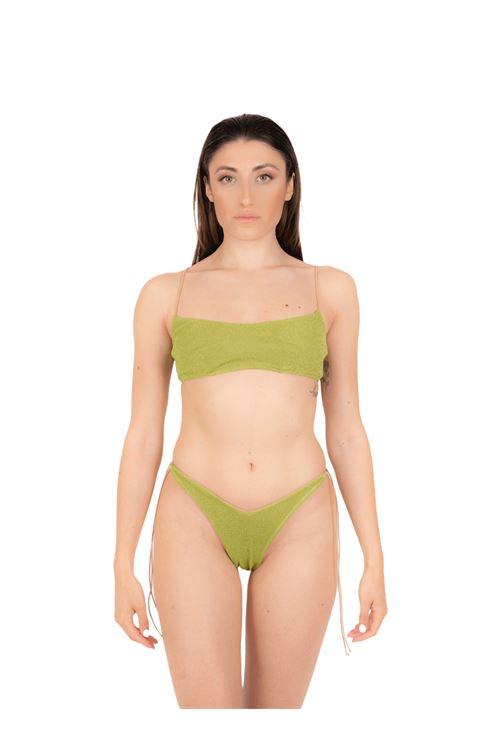 Bikini fascia con slip fiocco ANNAMARE | 23 | BK-115VERDE