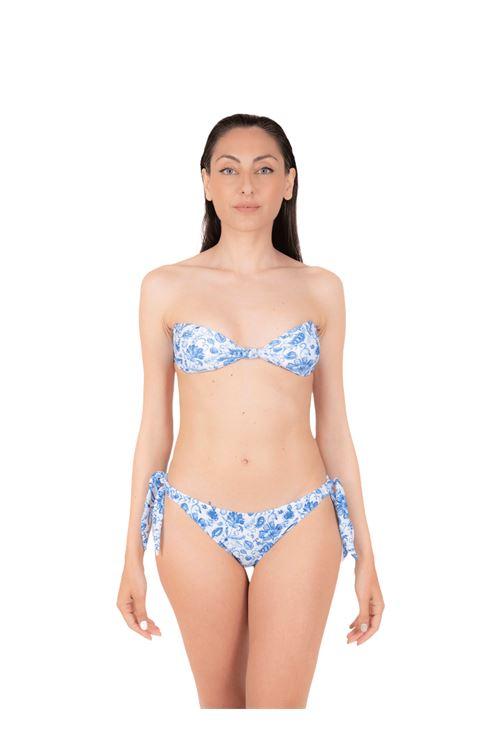 Bikini top with bow slip ANNAMARE | 23 | BK-116CELESTE