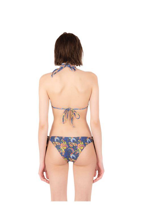 Bikini triangolo con slip fiocco ANNAMARE | 23 | BK-117BLU