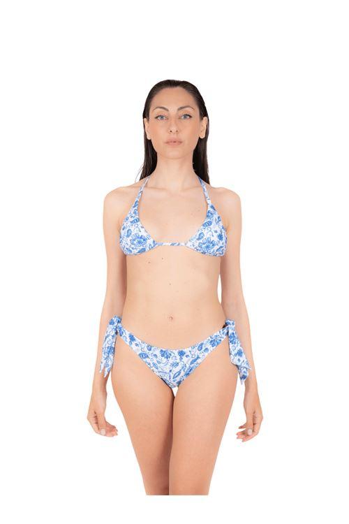 Bikini triangolo con slip fiocco ANNAMARE | 23 | BK-117CELESTE