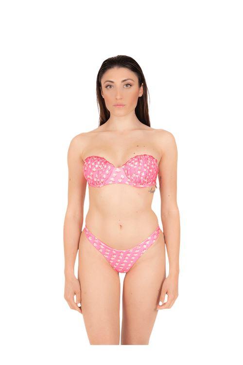 Bikini top shell with thong ANNAMARE | 23 | BK-120ROSA