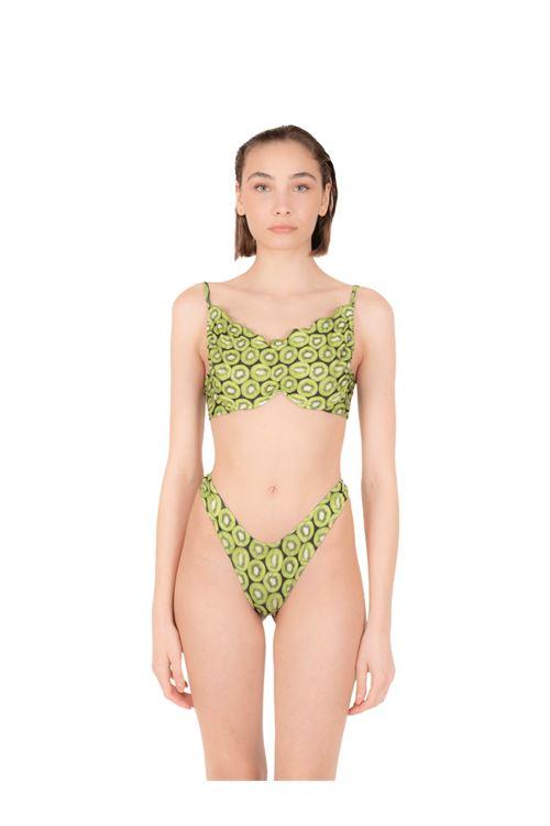 Bikini top with bow V slip ANNAMARE | 23 | BK-122VERDE