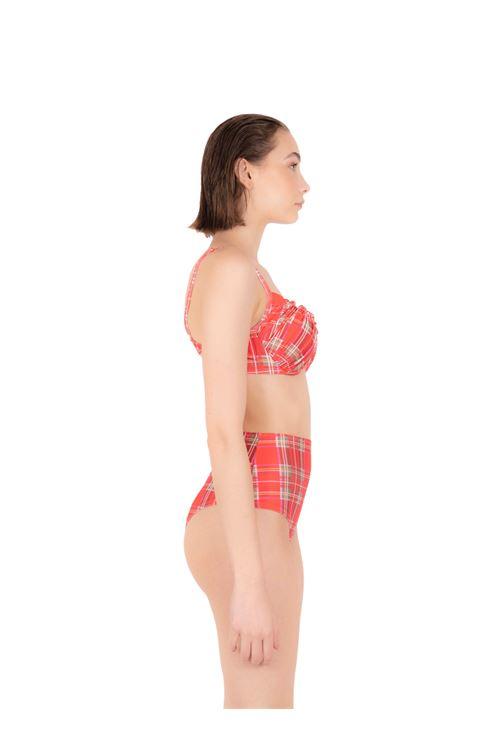 Bikini push-up con slip alto ANNAMARE | 23 | BK-123ROSSO