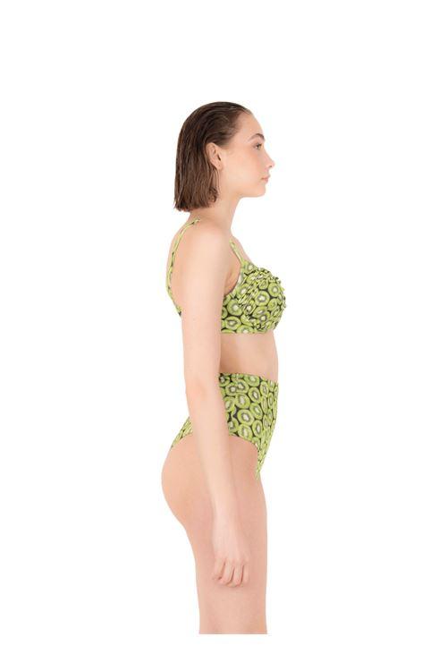 Bikini push-up con slip alto ANNAMARE | 23 | BK-123VERDE