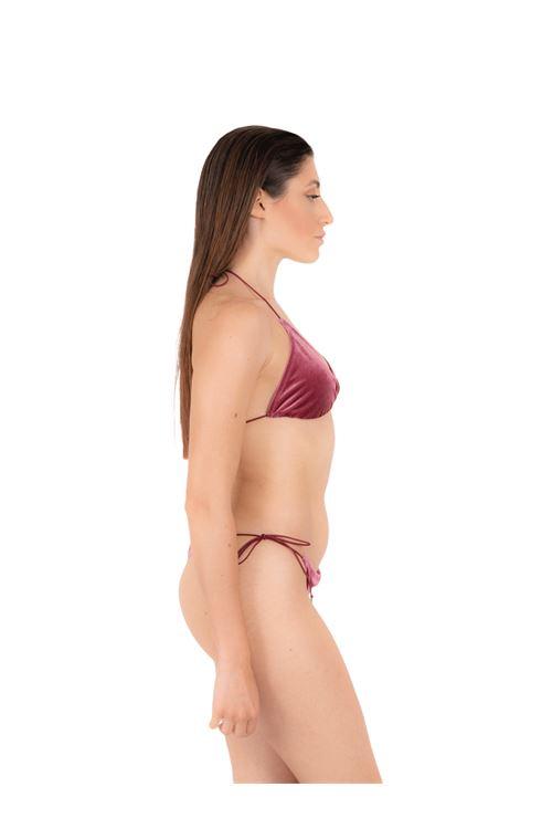 Bikini triangle with bow slip ANNAMARE | 23 | BK-124ROSA