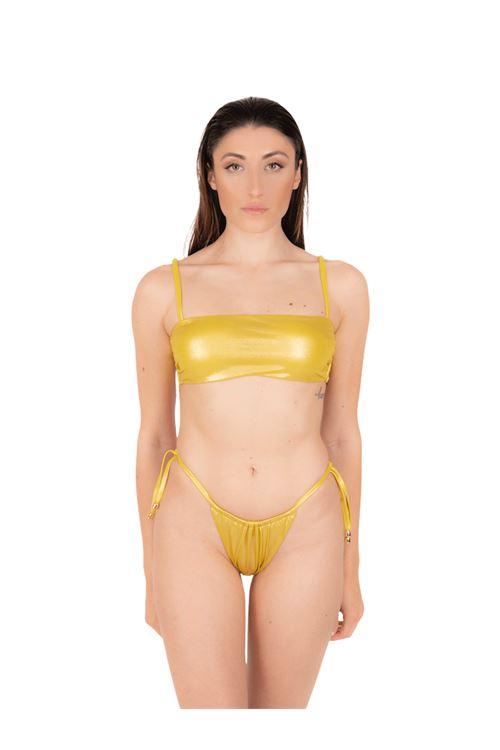 Bikini fascia con slip tanga ANNAMARE | 23 | BK-129GIALLO