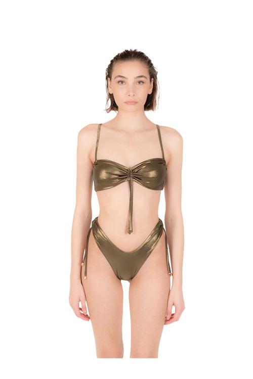 Bikini fascia con slip coulisse ANNAMARE | 23 | BK-130MARRONE