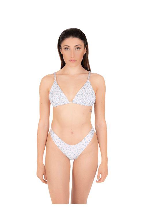 Bikini triangolo arriccio con slip V ANNAMARE | 23 | BK-131BIANCO