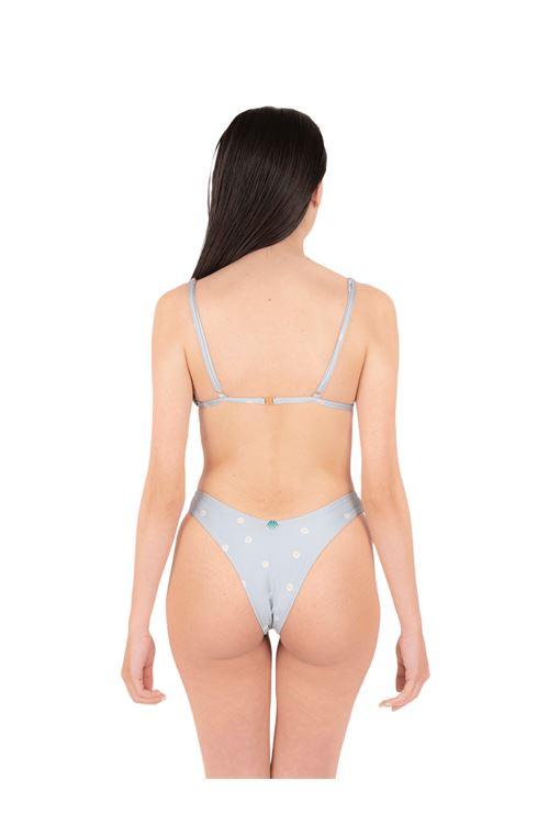 Bikini gathered triangle with slip V ANNAMARE | 23 | BK-131CELESTE