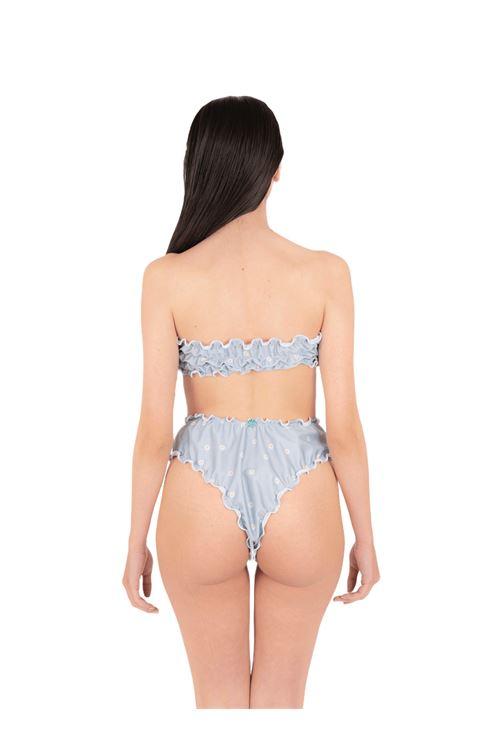 Bikini fascia con slip V ANNAMARE | 23 | BK-132CELESTE