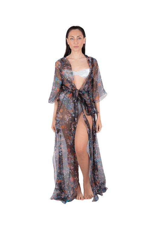 Long tulle resort wear  ANNAMARE | 5032236 | FA-704NERO