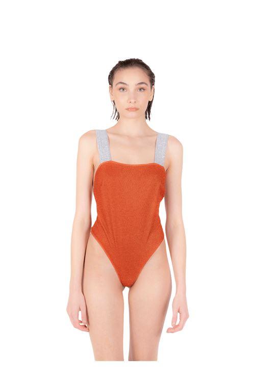 Swimsuit with glitter elastic ANNAMARE | 5032240 | IN-503ARANCIONE