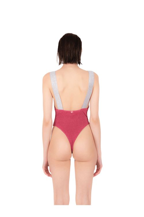 Swimsuit with glitter elastic ANNAMARE | 5032240 | IN-503ROSA