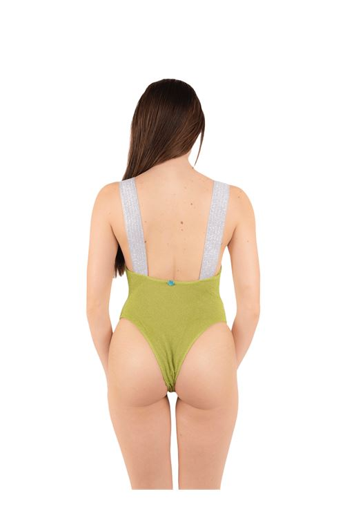 Swimsuit with glitter elastic ANNAMARE | 5032240 | IN-503VERDE