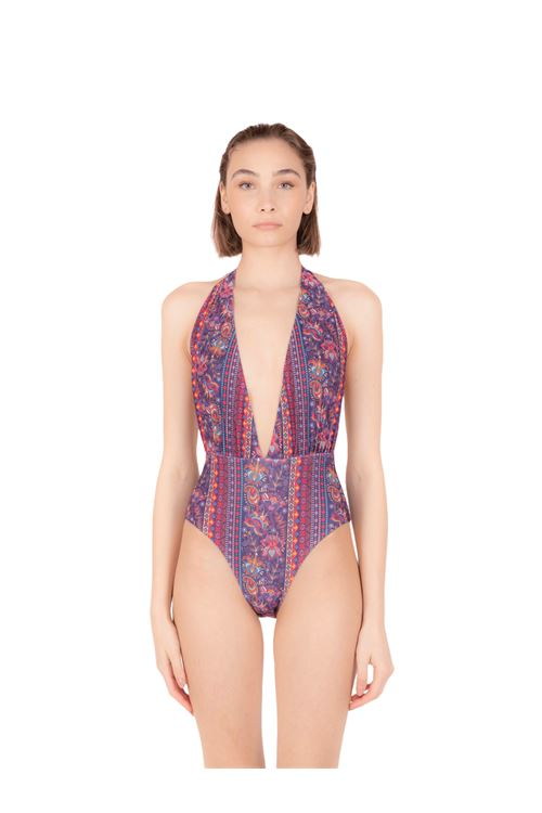 Swimsuit with bands ANNAMARE | 5032240 | IN-505ROSA