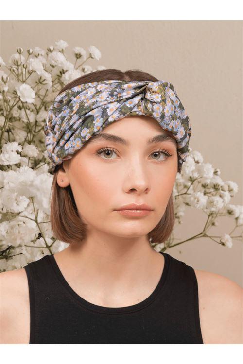 Patterned turban ANNAMARE | 5032238 | TU-801FANTASIA VERDE