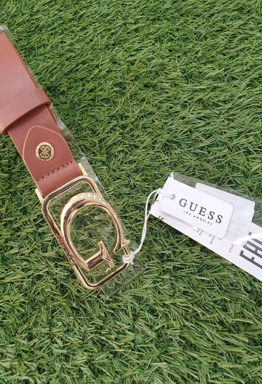 CINTURA GUESS BEIGE GUESS borse   Cinture   BW7394COGNAC