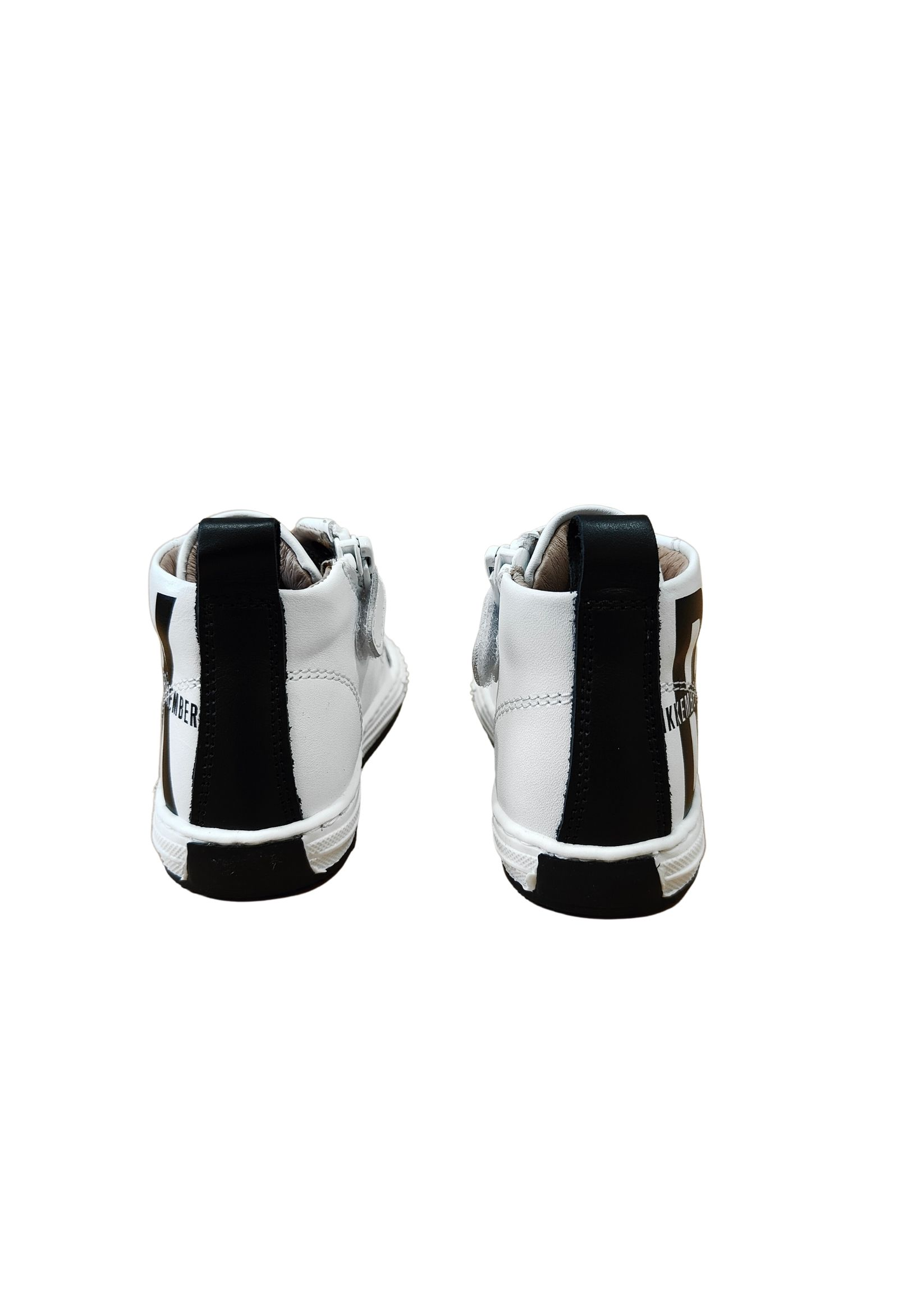 sneakers alta white e black bikkembergs | Scarpe | K1B420742NERO