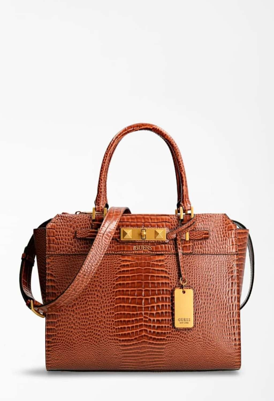 Borsa cocco marrone guess GUESS borse   Borse   CB7760230COGNAC