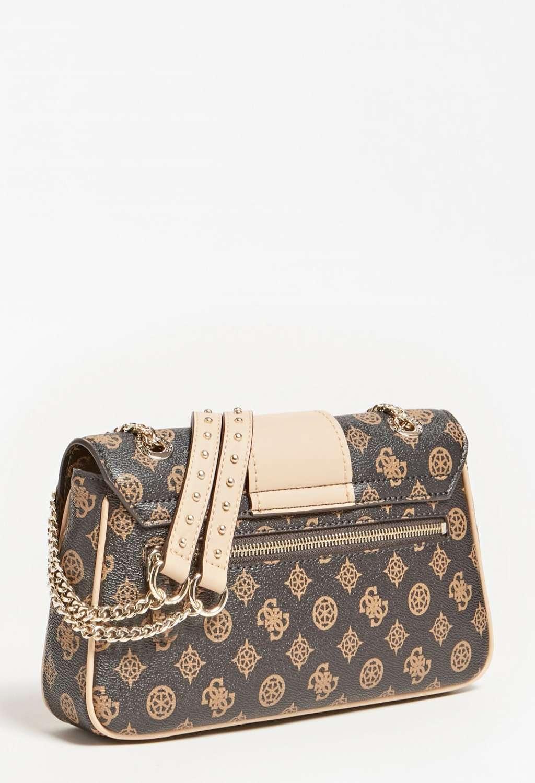 Pochette logata marrone guess GUESS borse | Borse | PG8129210MOCHA