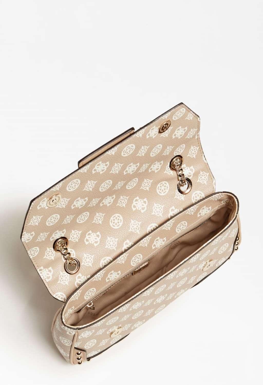 Pochette logata rosa guess GUESS borse   Borse   PG8129210SAND