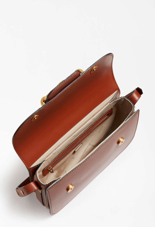 Tracolla cuoio GUESS borse   Borse   VB8113210ROSSA